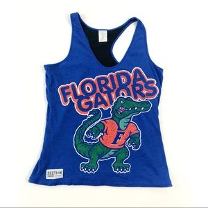 Florida Gators Section 101 mesh lined Tank Top L